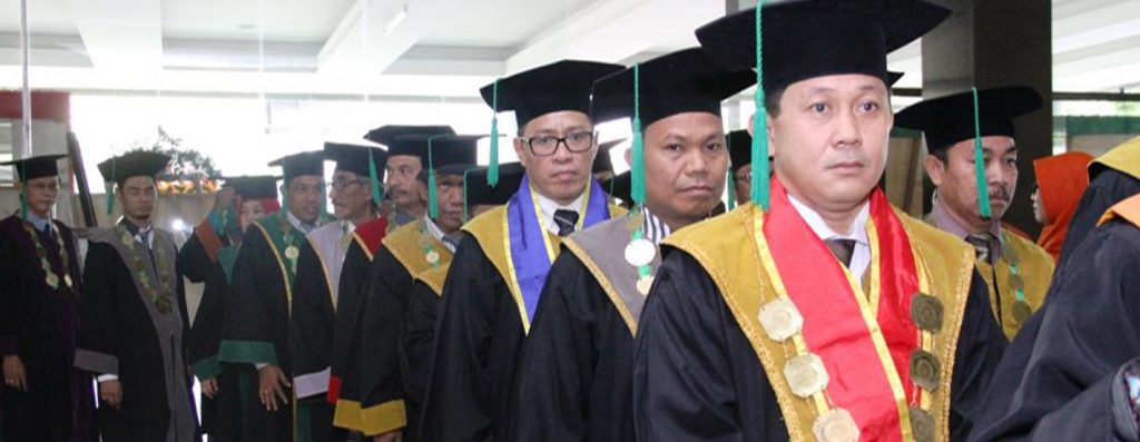 Prosesi Wisuda Universitas Khairun