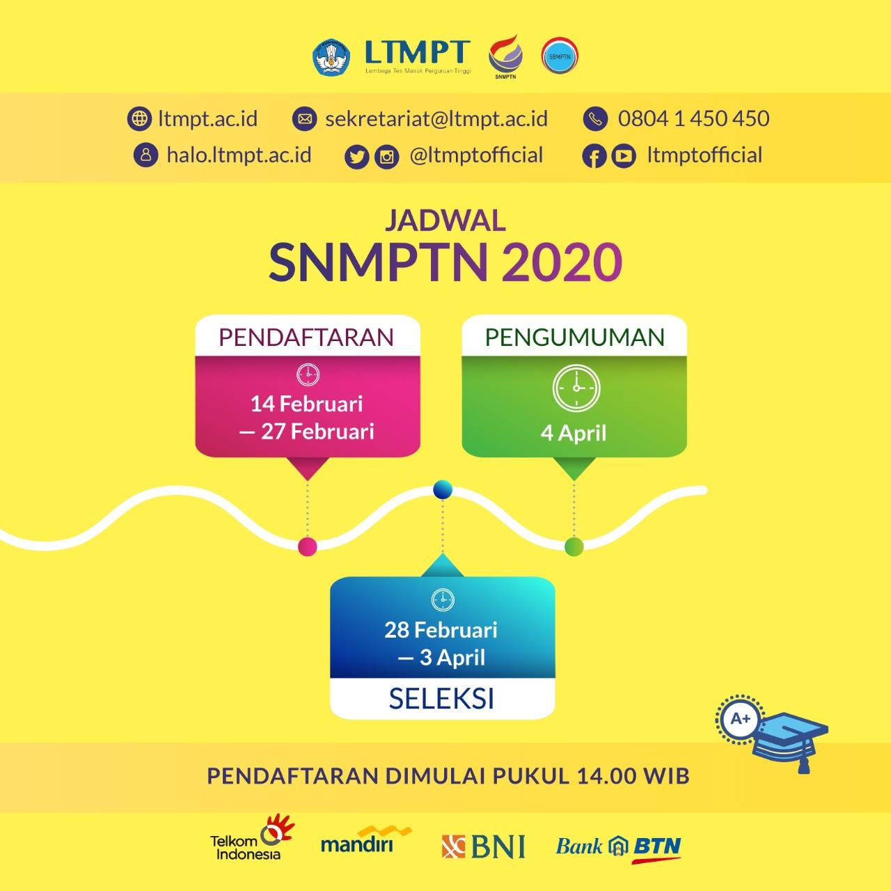 Pendaftaran Mahasiswa Baru Jalur Snmptn Mulai 14 Februari 2020 Universitas Khairun
